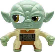 BulbBotz Star Wars Yoda Clock, Green