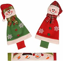 Buleerouy Christmas Home Decoration Gloves