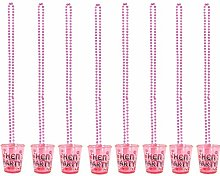 Bulk Buy Hen Party shot glass in pack size of