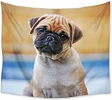 Bulldog Animal Dog Tapestry Wall Hanging Polyester