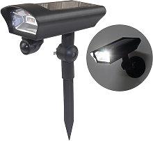 Bullet Fake Security Camera Shape Solar Powered