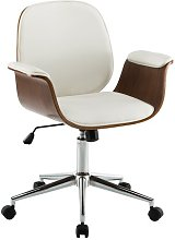 Bulma Desk Chair Blue Elephant Upholstery Colour:
