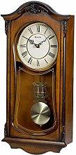 Bulova Walnut Finish Regulator Clock Westminster
