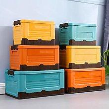 buluship Foldable Storage Box With Lid Home