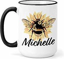 Bumble bee Mug Mug Custom Bee Mug Bee Lover Mug
