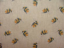 BUMBLE BEES Fabric Curtain Upholstery Craft
