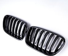 Bumper Gloss Black 1 Slat Kidney Grill Grille