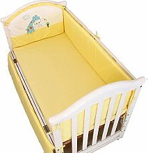 Bumper LAN Padded Baby Crib Rail Cover Protector,