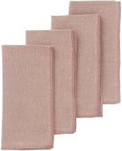 Bungalow DK - Mirra Napkins Rose Set/4 - pink -