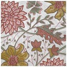 Bungalow DK - Paper Napkin Sitapur Sangria 50pcs -