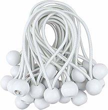 Bungee Cord Ball, 50Pcs Tarp Bungee Ball Elastic