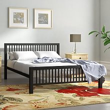 Buniel Bed Frame Wrought Studio Size: Double