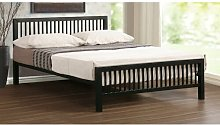 Buniel Bed Frame Wrought Studio Size: Small Double