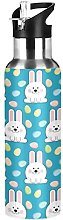 Bunny Cute Babbit Egg Easter Insulated Water