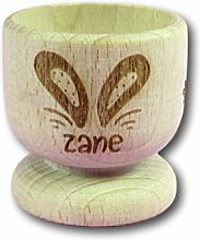 Bunny Ear Name Wooden Egg Cup | Personalised Egg