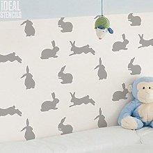 BUNNY RABBIT Nursery Decor STENCIL. Rabbit PATTERN
