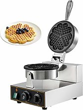 BuoQua Commercial Heart-Shaped Waffle Maker