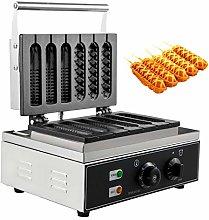 BuoQua Commercial Lolly Waffles Makers 6pcs