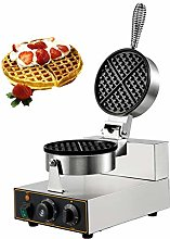 BuoQua Commercial Single Head Round Waffle Maker