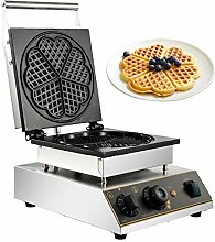 BuoQua Heart-Shaped Commercial Waffle Maker