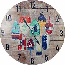 Buoys Wall Clock