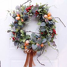 BURAN Autumn Harvest Decoration Garland Wreath