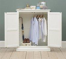 Burford Soft White Combination Wardrobe