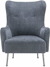 Burke Wingback Chair TOV Furniture Upholstery