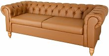 Burkes 3 Seater Chesterfield Sofa ClassicLiving