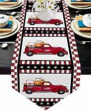 Burlap Table Runner for Party/Dinner American