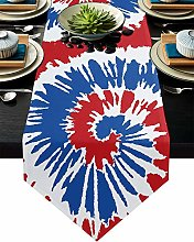 Burlap Table Runner for Party/Dinner Colorful
