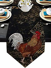 Burlap Table Runner for Party/Dinner Retro Farm