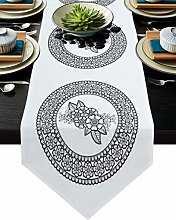 Burlap Table Runner for Party/Dinner Simple
