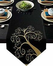 Burlap Table Runner for Party/Dinner Simple Gloden