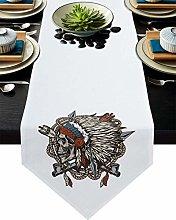 Burlap Table Runner for Party/Dinner Trendy Indian