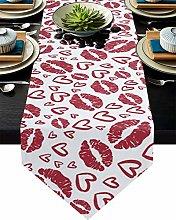 Burlap Table Runner for Party/Dinner