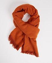 Burnt Orange Scarf - One Size