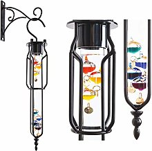 Burwells Colourful Hanging Galileo Thermometer For