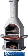 Buschbeck Rondo Masonry Barbecue