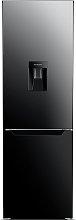 Bush 60185FFWTD Fridge Freezer - Black