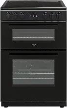 Bush BDBL60ELBX 60cm Double Oven Electric Cooker -
