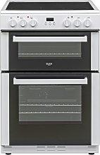 Bush BDBL60ELWX 60cm Double Oven Electric Cooker -