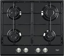 Bush BSH60BFCHB Gas Hob - Black