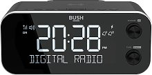 Bush DAB+ Clock Radio with Wireless Charging Dock