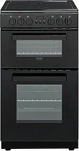 Bush DHBETC50B 50cm Twin Cavity Electric Cooker -