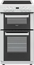Bush DHBETC50W 50cm Twin Cavity Electric Cooker -