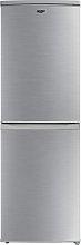 Bush M50152FFS Frost Free Fridge Freezer - Silver
