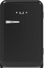 Bush MUCFR55BLK Retro Under Counter Freezer - Black