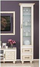 Bushnell Curio Cabinet ClassicLiving Colour: Beige
