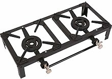 Butane Gas Double Burner Camping Cooker Country